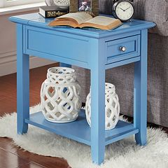 HomeVance Otero Charging End Table