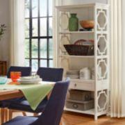 HomeVance Darby 4-Shelf Bookshelf