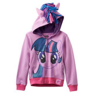 Girls 4-6x My Little Pony Twilight Sparkle Glitter Hoodie