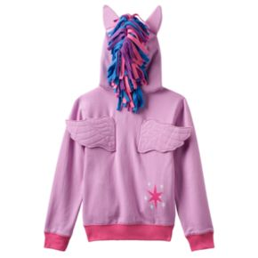 Girls 4-6x My Little Pony Twilight Sparkle Glitter Hoodie