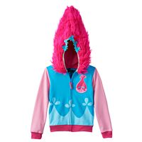 Girls 4-6x DreamWorks Trolls Poppy Applique Hoodie