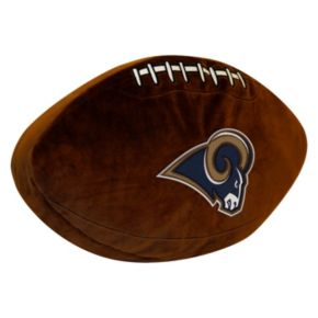 Los Angeles Rams Football Pillow