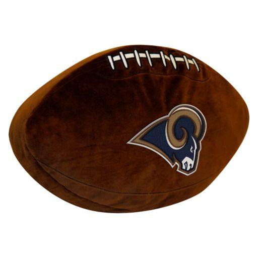 Los Angeles Rams Football Pillow