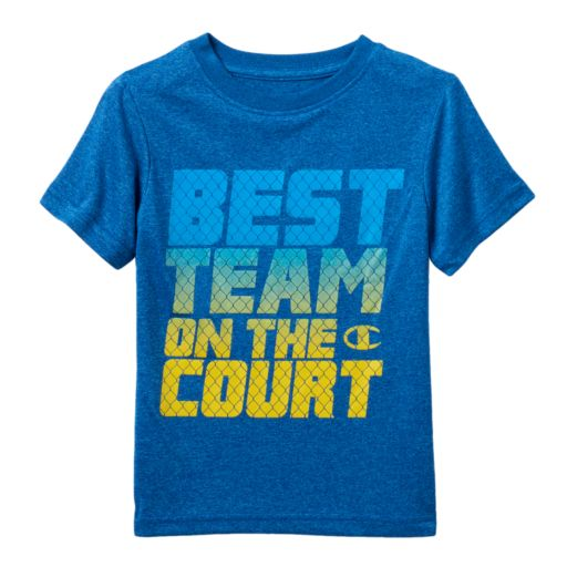 "Boys 4-7 Champion ""Best Team On The Court"" Performance Graphic Tee"