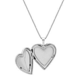 Treasured Moments Sterling Silver Filigree Heart Locket