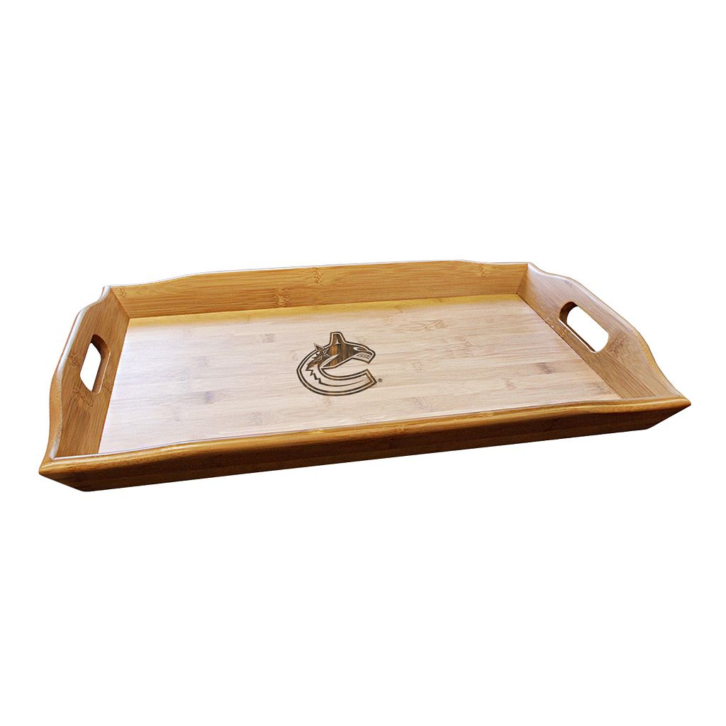 Vancouver Canucks Bamboo Serving Tray