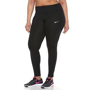 Plus Size Nike Dri-FIT Essential Crop Leggings