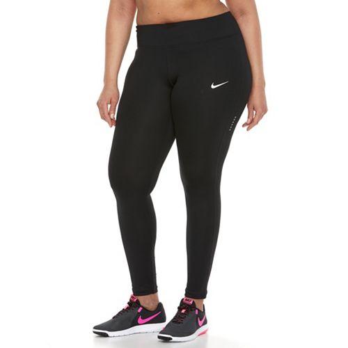 Plus Size Nike Dri-FIT Essential Ankle Leggings