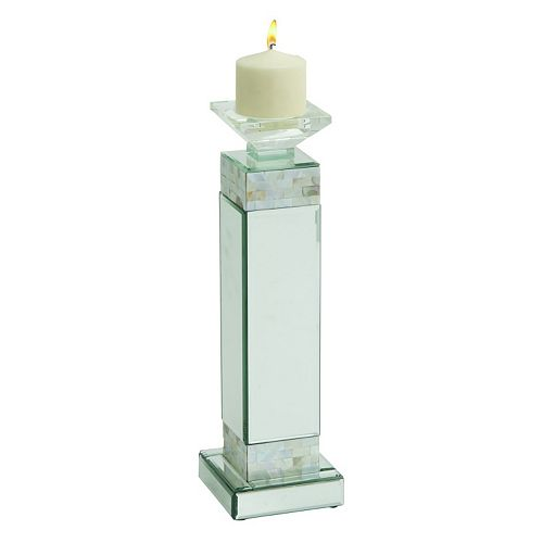 Modern Reflections Mosaic Candle Holder