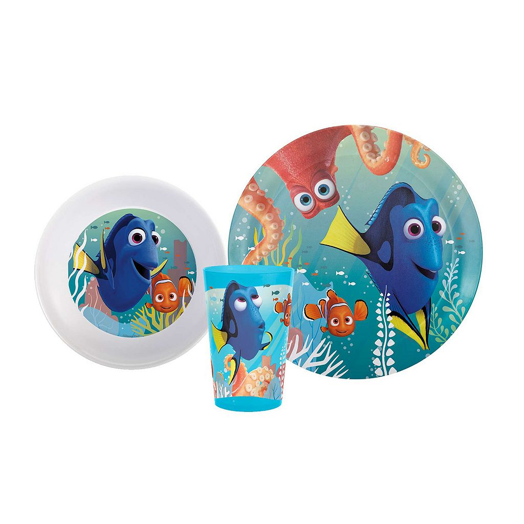 Disney / Pixar Finding Dory 3-pc. Kid's Dinnerware Set by Zak Designs