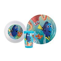 Disney / Pixar Finding Dory 3-pc. Kid's Dinnerware Set by Zak Designs