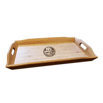 New York Islanders Bamboo Serving Tray
