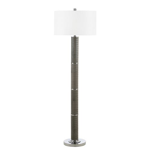 Safavieh Marcello Faux Alligator Floor Lamp