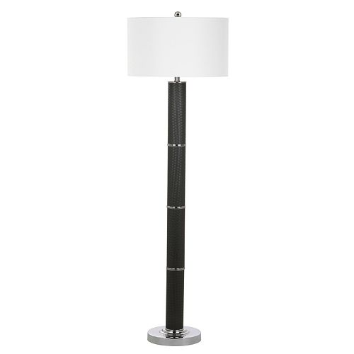 Safavieh Marcello Faux Leather Floor Lamp