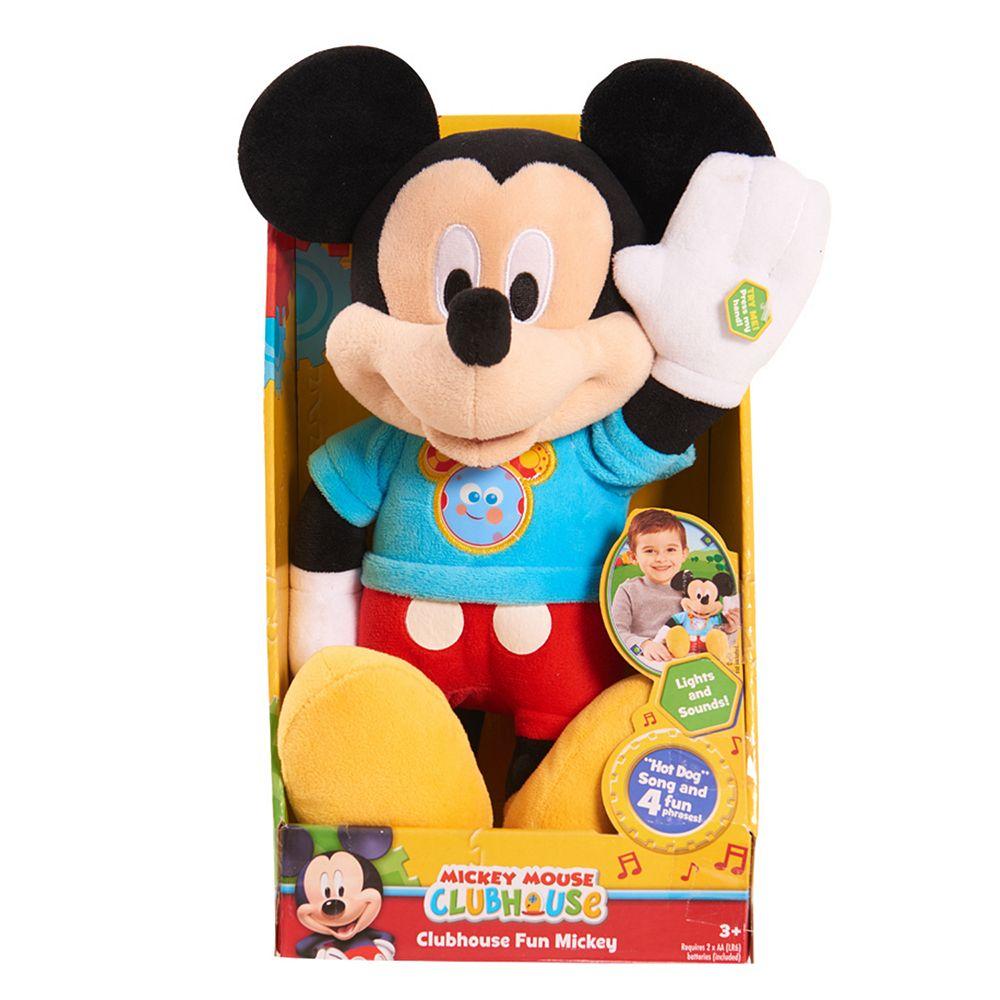 disney s mickey mouse clubhouse fun mickey plush