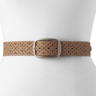 Women's Relic Floral Laser-Cut Belt