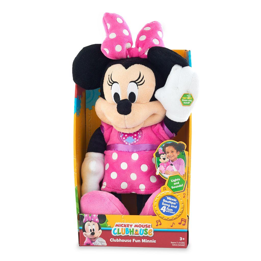 Disney's Mickey Mouse Clubhouse Fun Minnie Plush
