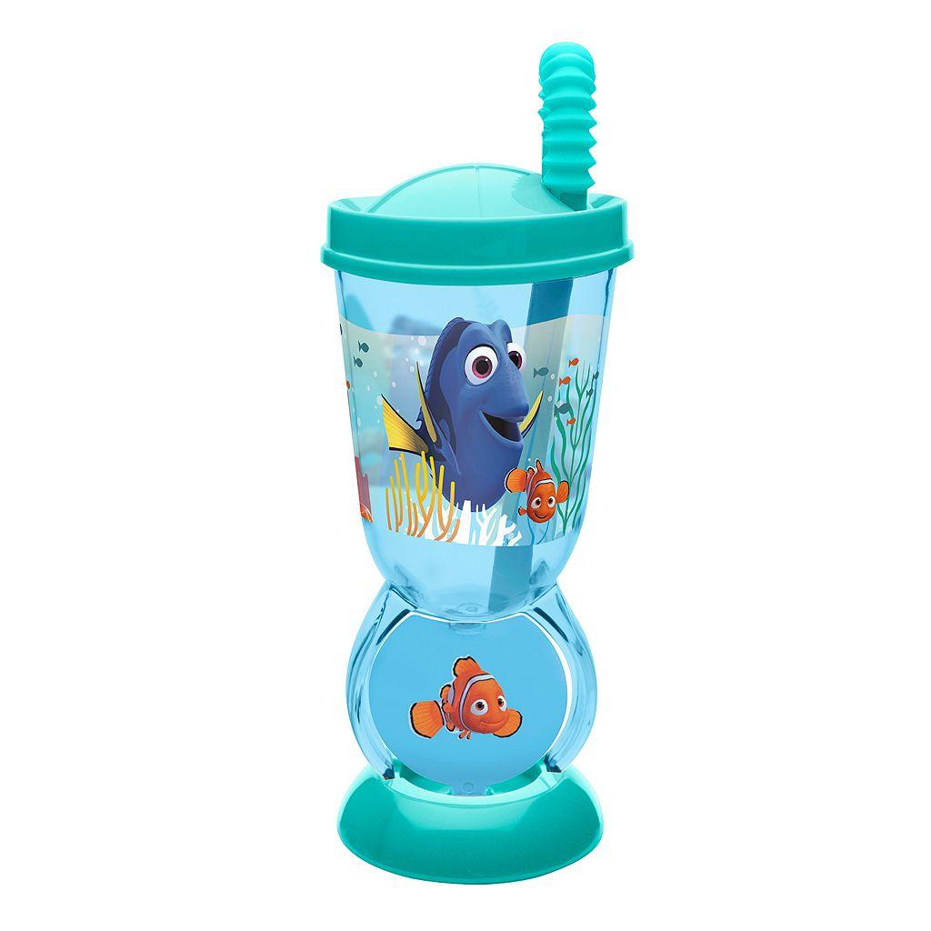 Disney / Pixar Finding Dory Nemo 9.5-oz. Spinning Straw Tumbler by Zak Designs