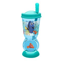 Disney / Pixar Finding Dory Nemo 9.5-oz. Spinning Straw Tumbler by Zak Designs