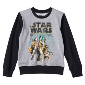 Girls 7-16 Star Wars Rogue One Colorblock Fleece-Lined Top by Freeze