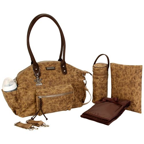Kalencom New York Brown Diaper Bag