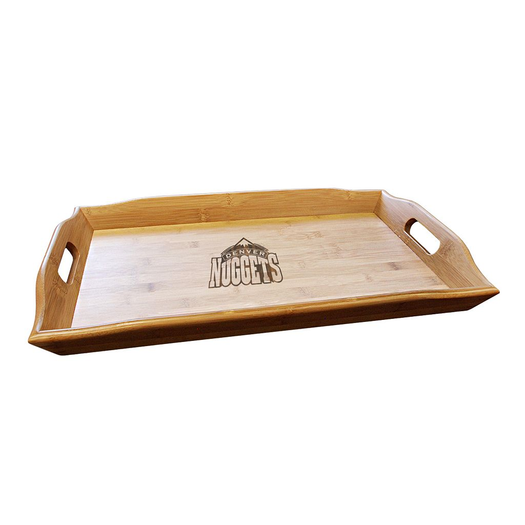 Denver Nuggets Bamboo Serving Tray
