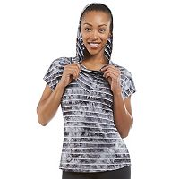 Women's Balance Collection Abigail Tie-Dyed Short Sleeve Hoodie