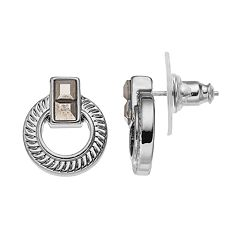 Simply Vera Vera Wang Door Knocker Earrings