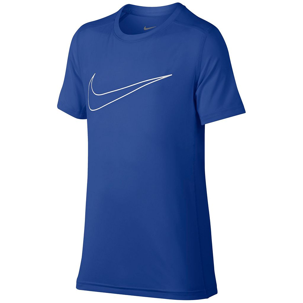 Boys 8-20 Nike Base Layer Swoosh Tee