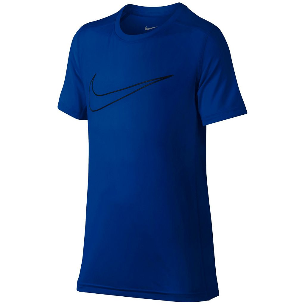 Boys 8-20 Nike Base Layer Swoosh Tee