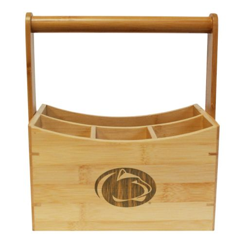 Penn State Nittany Lions Bamboo Utensil Caddy
