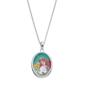 Disney's The Little Mermaid Ariel Kids' Cubic Zirconia Shaker Pendant