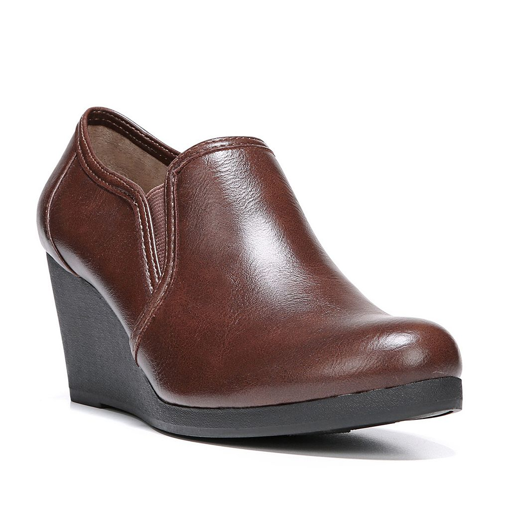 LifeStride Never Women's Wedge Ankle Boots