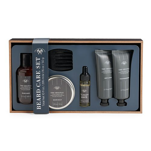 Tri Coastal Design 6 Pc The Original Beard Care Set