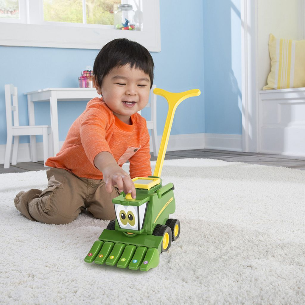 John Deere Musical Corey Combine Vehicle Toy by Tomy