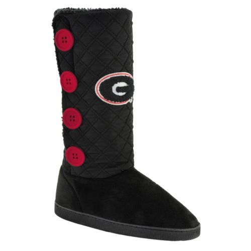 Women's Georgia Bulldogs Button Boots