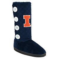 Women's Illinois Fighting Illini Button Boots