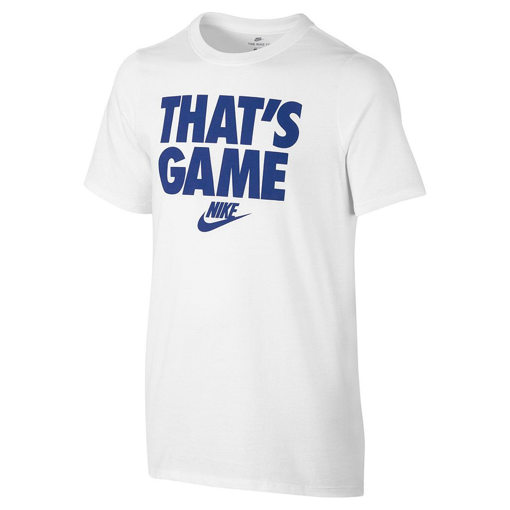 Boys 8-20 Nike That's Game Tee