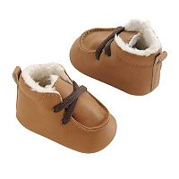 Baby Boy OshKosh B'gosh® Sherpa-Lined Crib Shoes