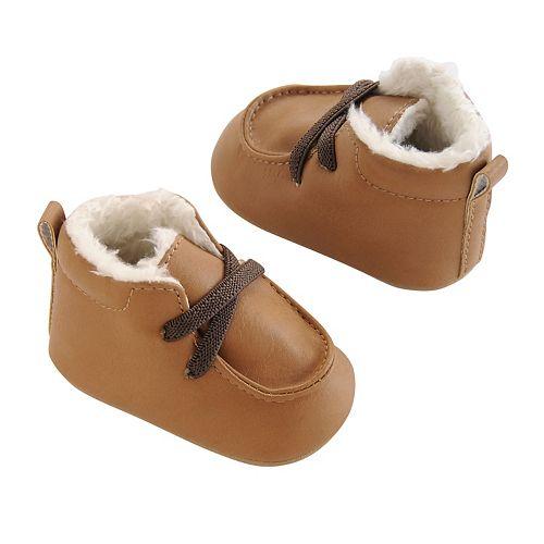 Baby Boy OshKosh B'gosh® Sherpa-Lined Crib Shoes