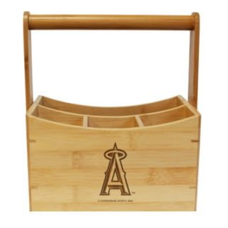 Los Angeles Angels of Anaheim Bamboo Utensil Caddy