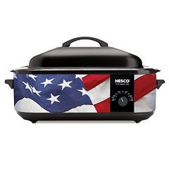 Nesco American Flag Patriotic Roaster Oven