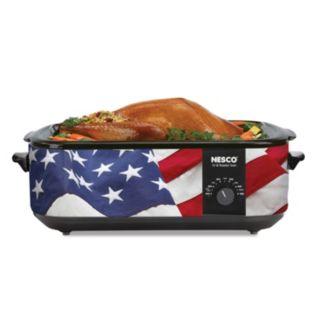 Nesco American Flag Patriotic Roaster Oven