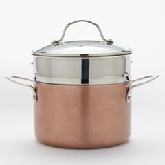 Food Network™ 4-qt. Ceramic Multipot with Steamer Insert