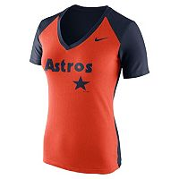Women's Nike Houston Astros Cooperstown Fan Tee