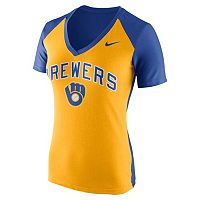 Women's Nike Milwaukee Brewers Cooperstown Fan Tee