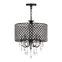 Safavieh Black Axel Chandelier