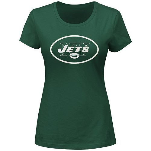 Plus Size Majestic New York Jets Franchise Fit Tee