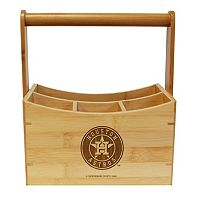 Houston Astros Bamboo Utensil Caddy