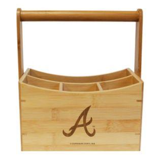 Atlanta Braves Bamboo Utensil Caddy
